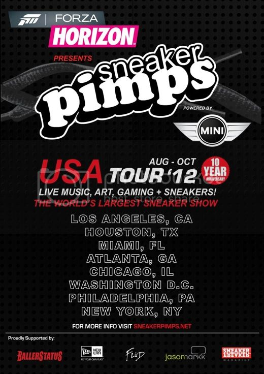 Sneaker Pimps USA Tour 2012