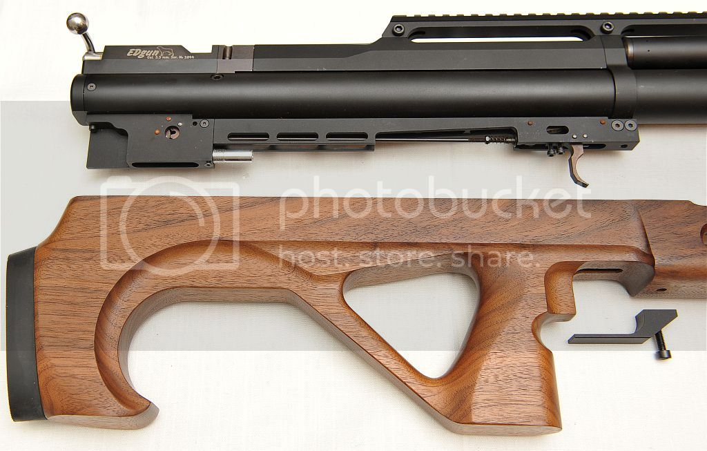 EDgun Matador R3 std with stock removed