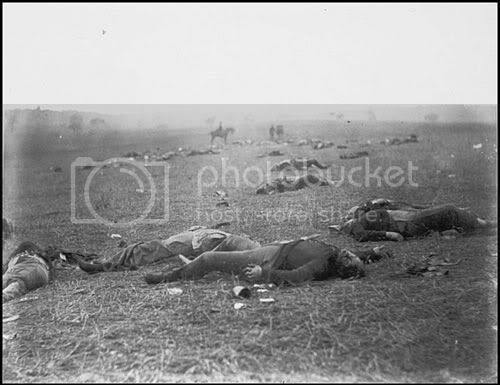 FEDERAL DEAD AT GETTYSBURG